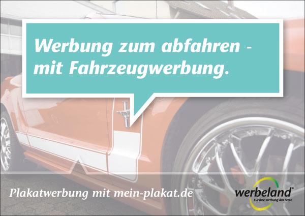 Fahrzeugwerbung