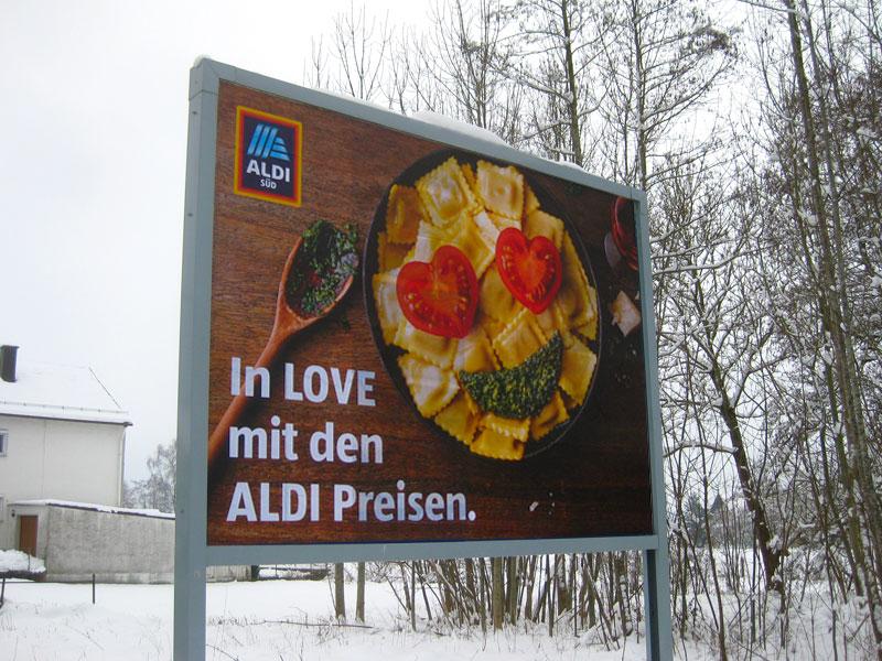 Aldi Plakat