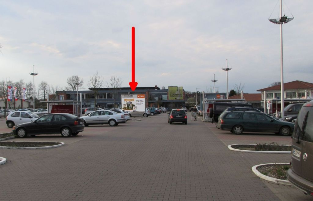 Mönkeberg 4. REWE. Si.Markteinfahrtstr.gg.Einkaufswagenbox