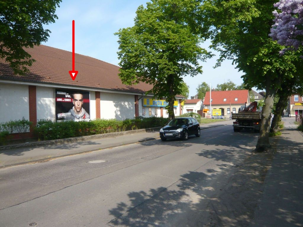 Brauereistr. 9 B. EDEKA. parallel z. Str.