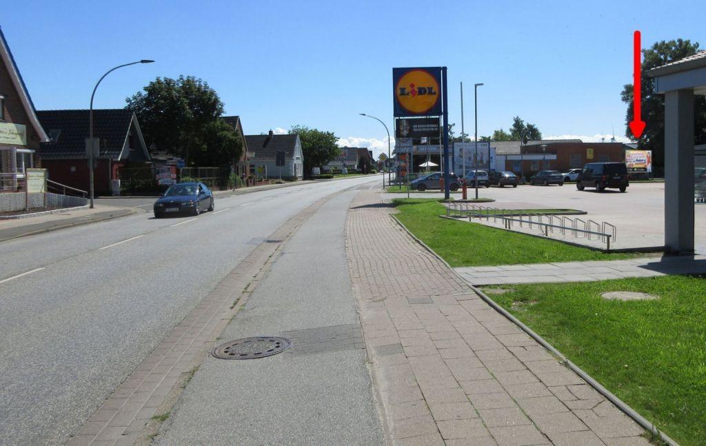Hafenstr. 20. LIDL u. Tanke