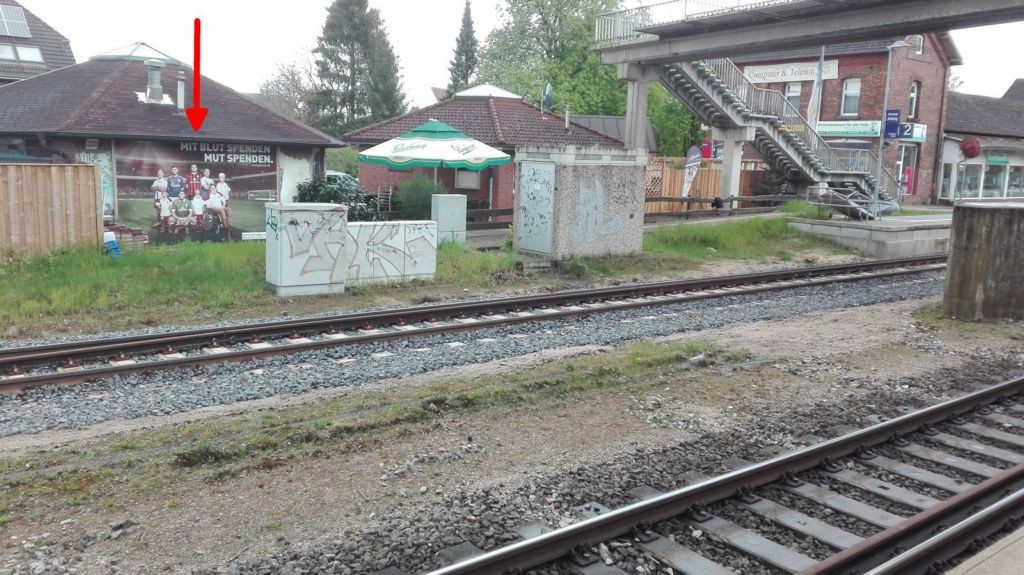 Bahnhofstr. 13. Bhf.. Si. Bahnsteig