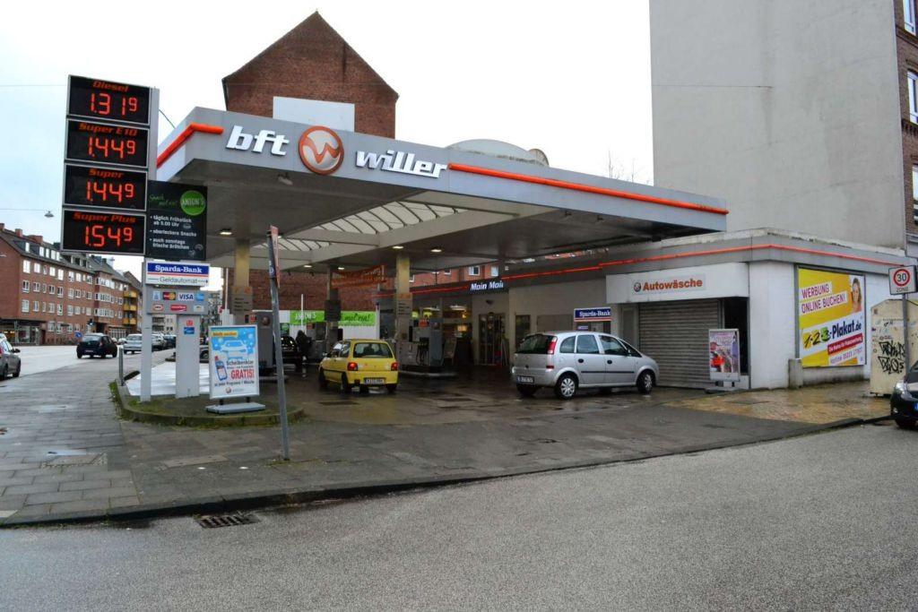 Knooper Weg 137 Alsenstr. Tankst.