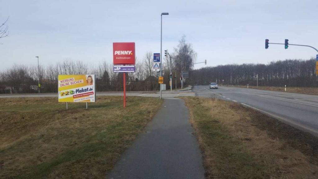 B 105/ Grüner Weg. Kreuzung We.li