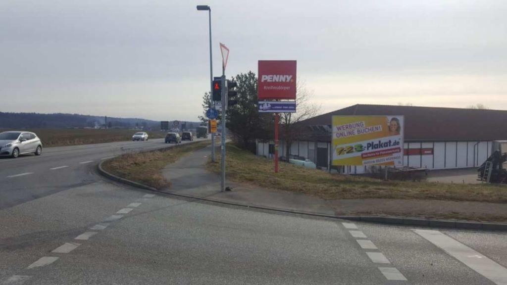 B 105/ Grüner Weg. Kreuzung We.re.