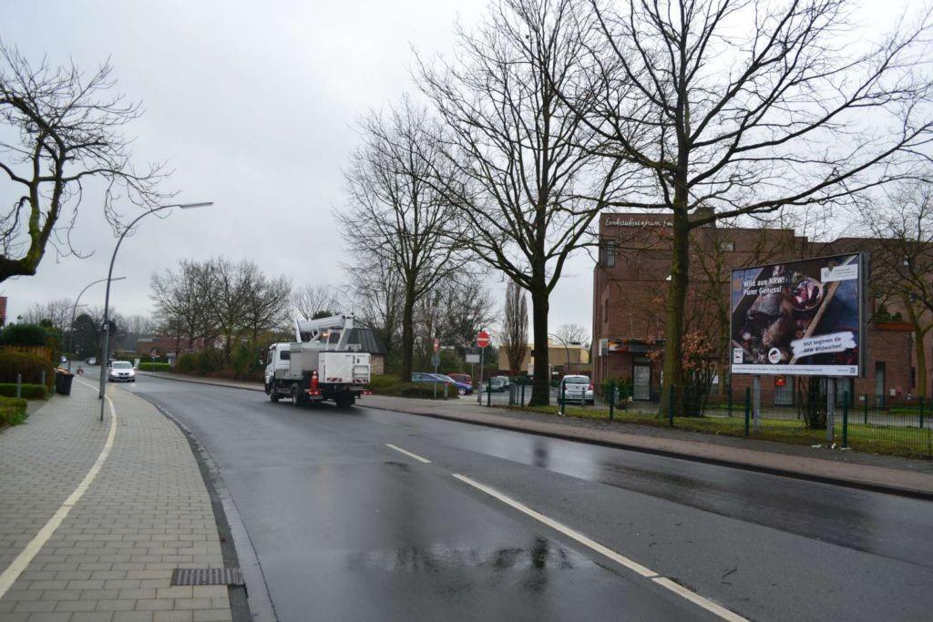 Rubensstraße Sicht Straße Kreuzung Am Roggenkamp 188