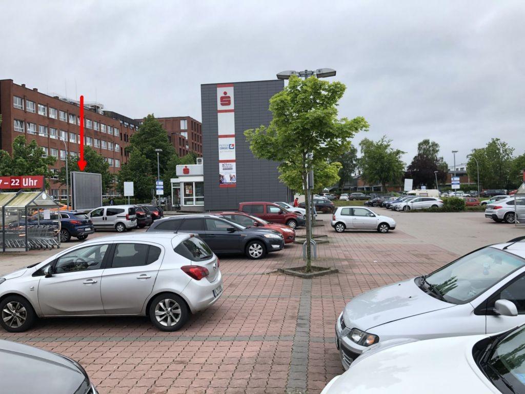 Moislinger Allee 54. REWE. Sicht Markt