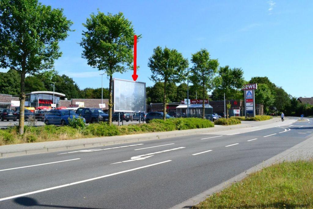 Friesische Straße 150. Rewe. Sicht Straße