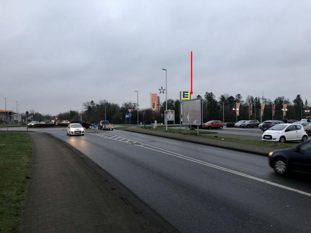 Siemensstraße 36. EDEKA. Sicht Kreisel