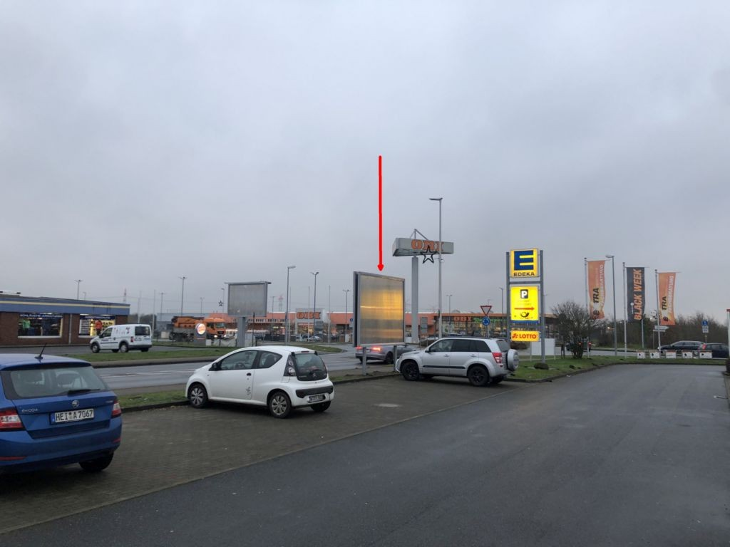 Siemensstraße 36 EDEKA. Sicht Markt
