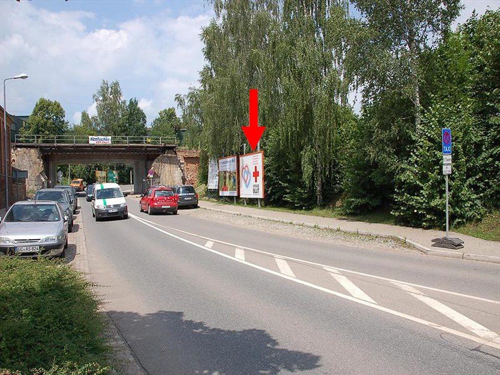 Am Bahnhof/Goldbachstr. geg.  14 re