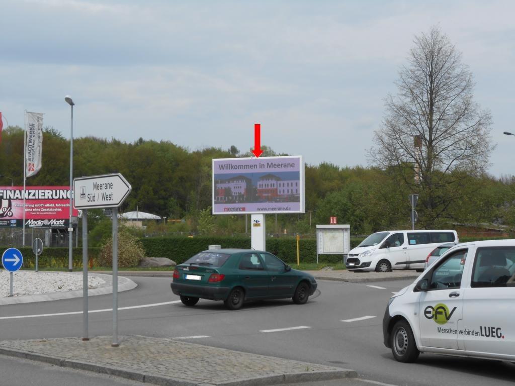 Äussere-Crimmitschauer-Str.,Kreisverkehr Gewerbegeb.