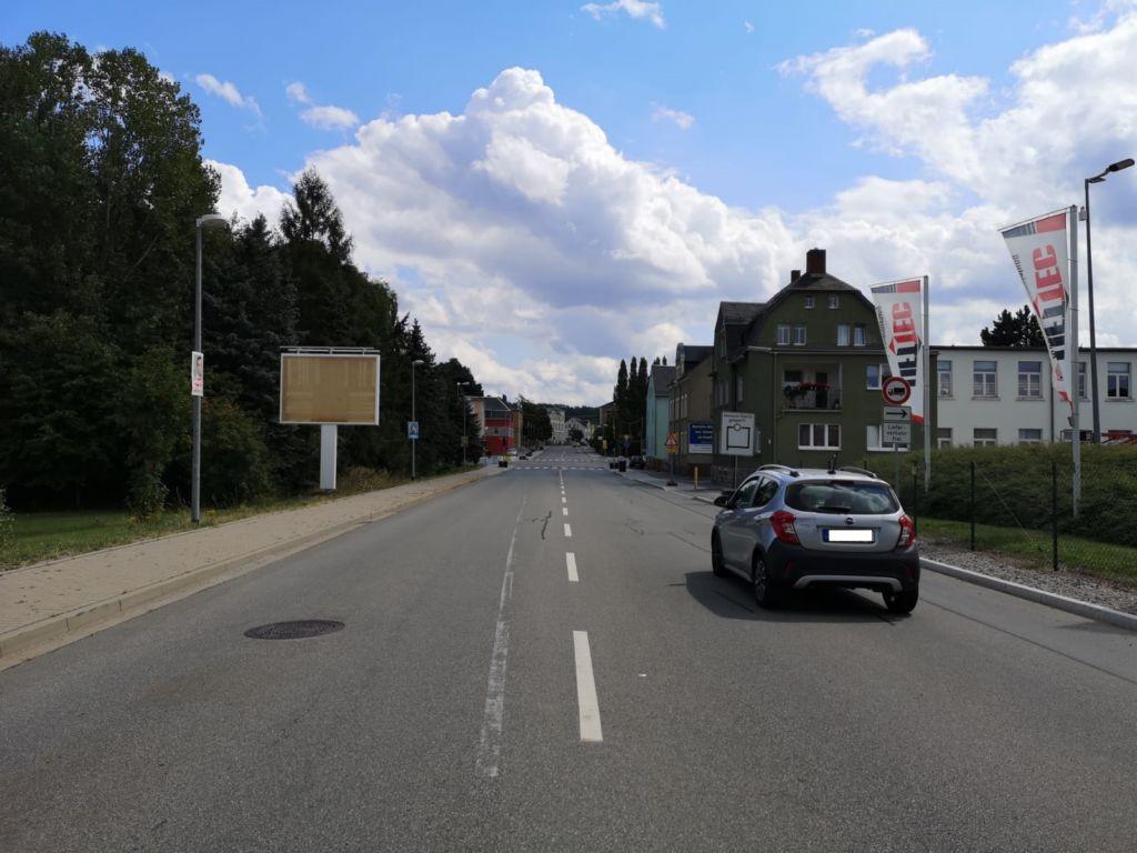 Leipziger Str. nh. Kreuzung Limbacher Str. / Burgstädter Str. li