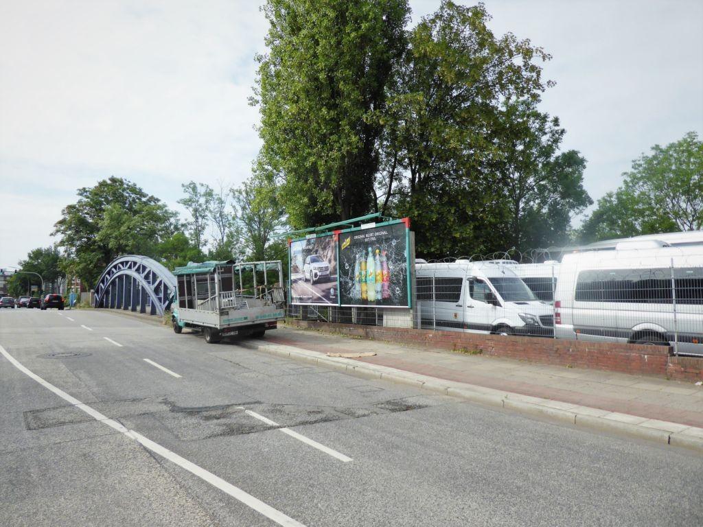 Grevenweg/ Sorbenstr. 24 rechts von der Brücke