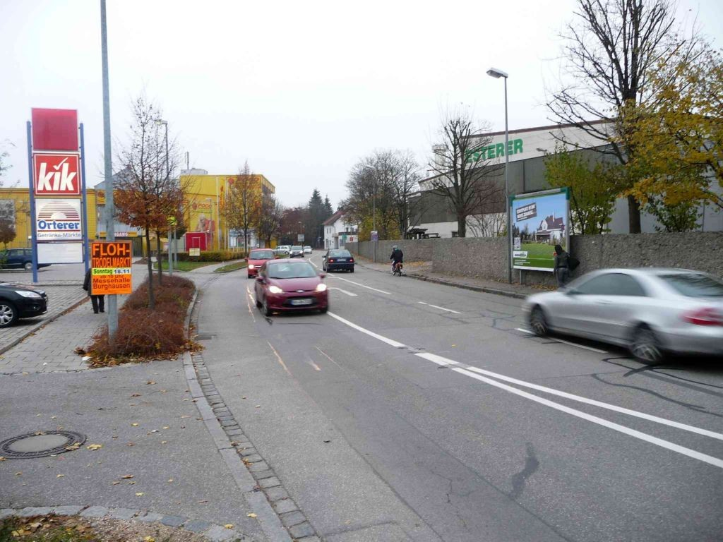 Mühldorfer Str. 50 nh. / Aventinstr. gg. Pocco-Einricht.