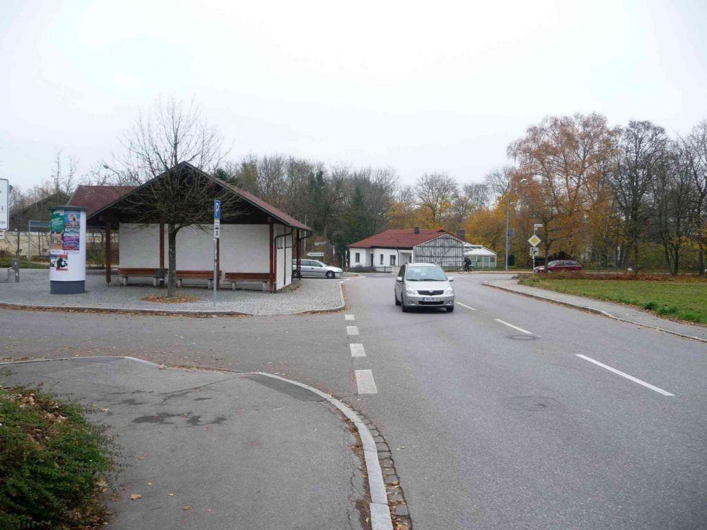 Griesstraße, Omnibus-Parkplatz