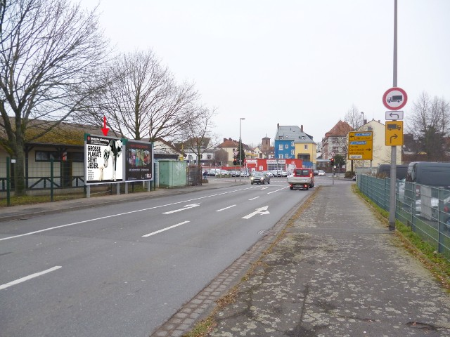 Dyroffstraße / Schillerstraße gg. Shell