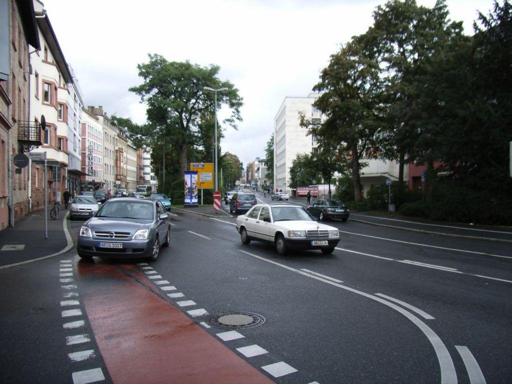 Weißenburger Straße 46, B 26, B 8             3,00 x 3,80