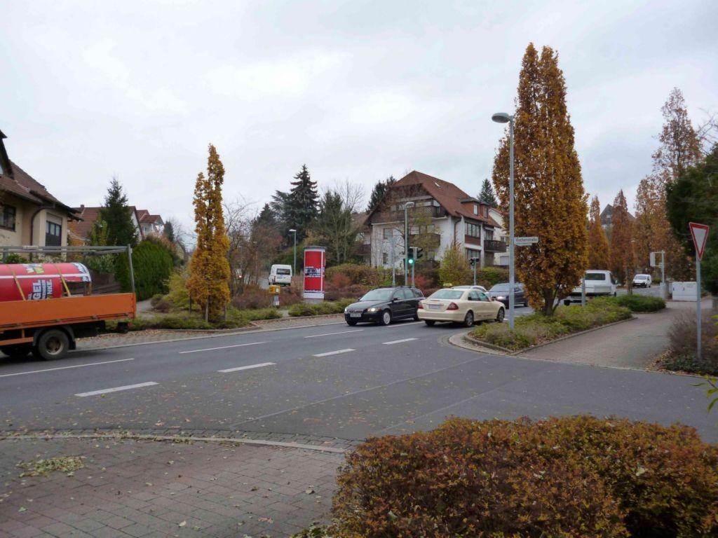 Yorckstraße / Ludwigsallee   3,00 x 3,80 m