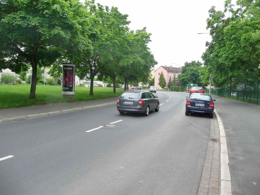 Südbahnhofstr. vor Schlachthof nh. / Werkstr.  3,00 x 3,80 m