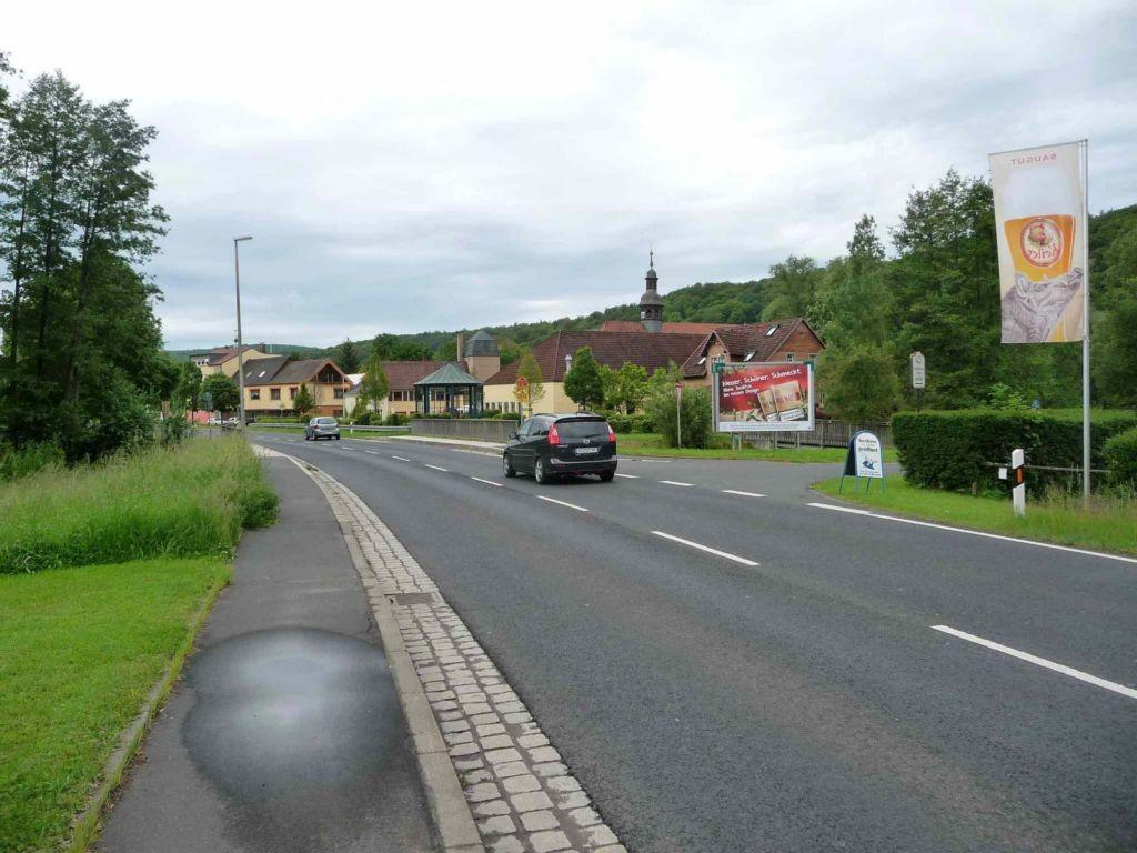 Am Schönborn, Gasthaus Zum Adler, stadteinwärts (VS)