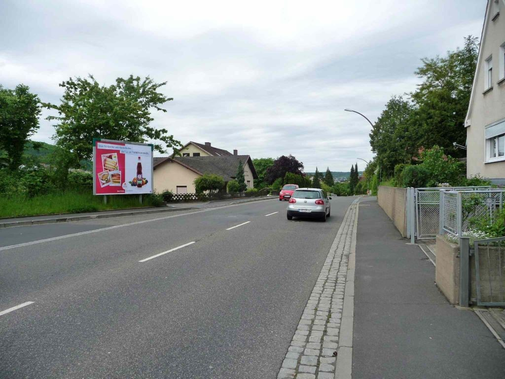 Münnerstädter Straße gg. 15, B 287 nh. / Lilienstr.
