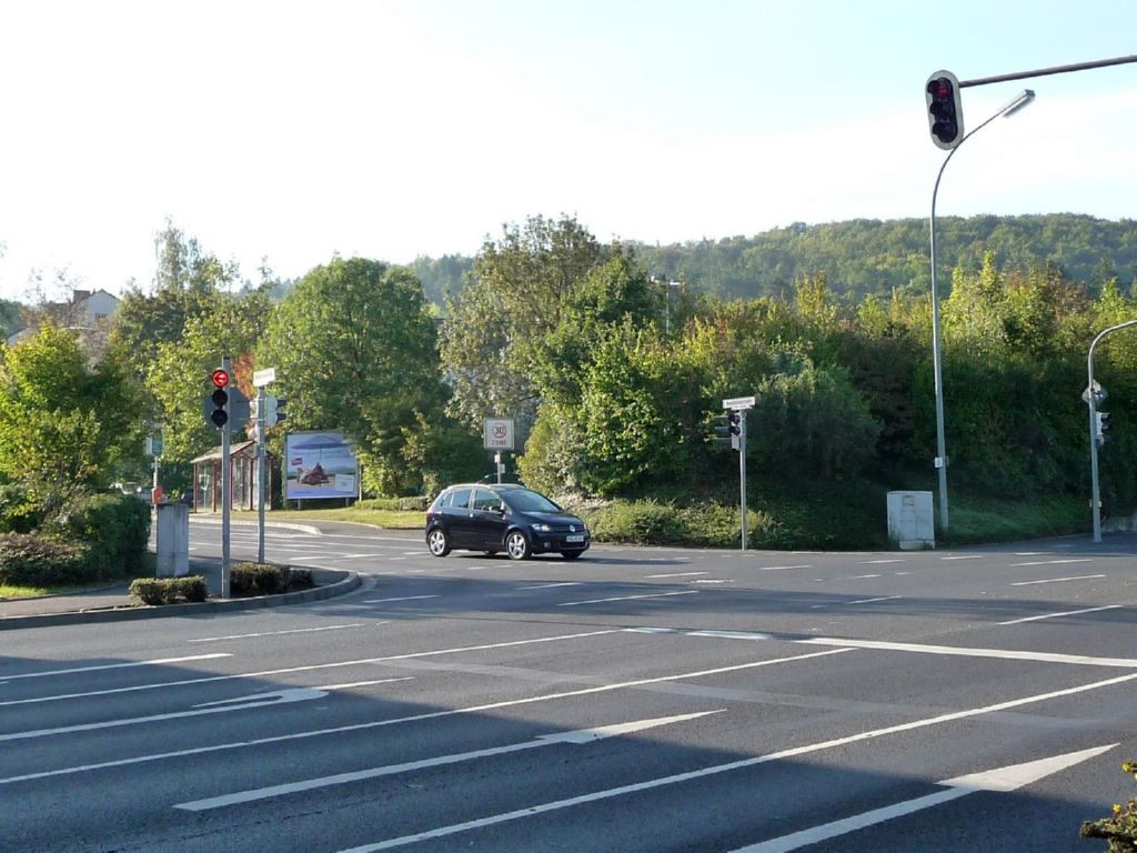 Wendelinusstraße gg. / St.-Bruno-Str. Einf. Ostring B 287
