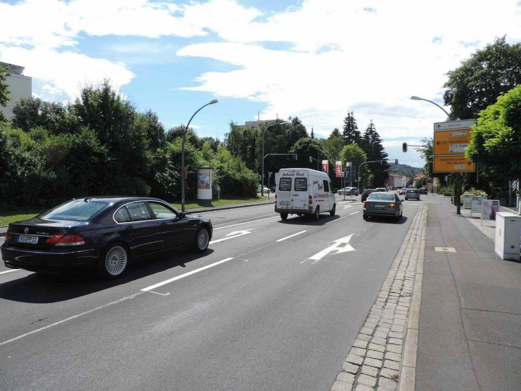 Münnerstädter Straße, B 287 nh. / Ostring, B 287