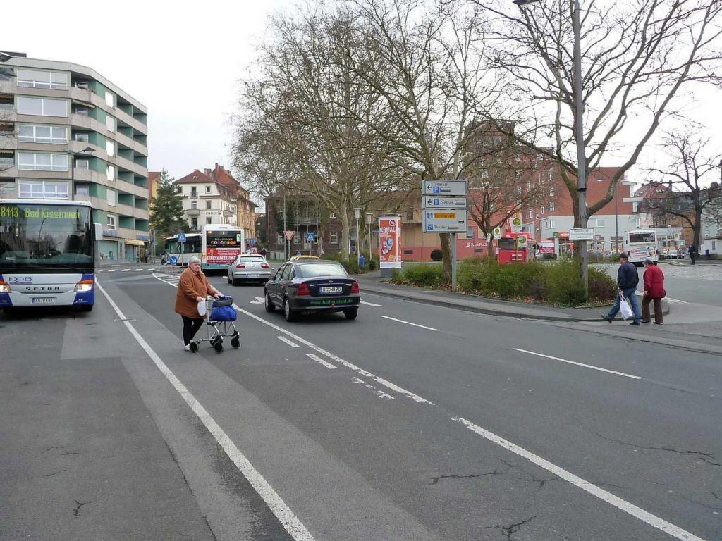 Berliner Platz  Busbahnhof   3,00 x 3,80 m
