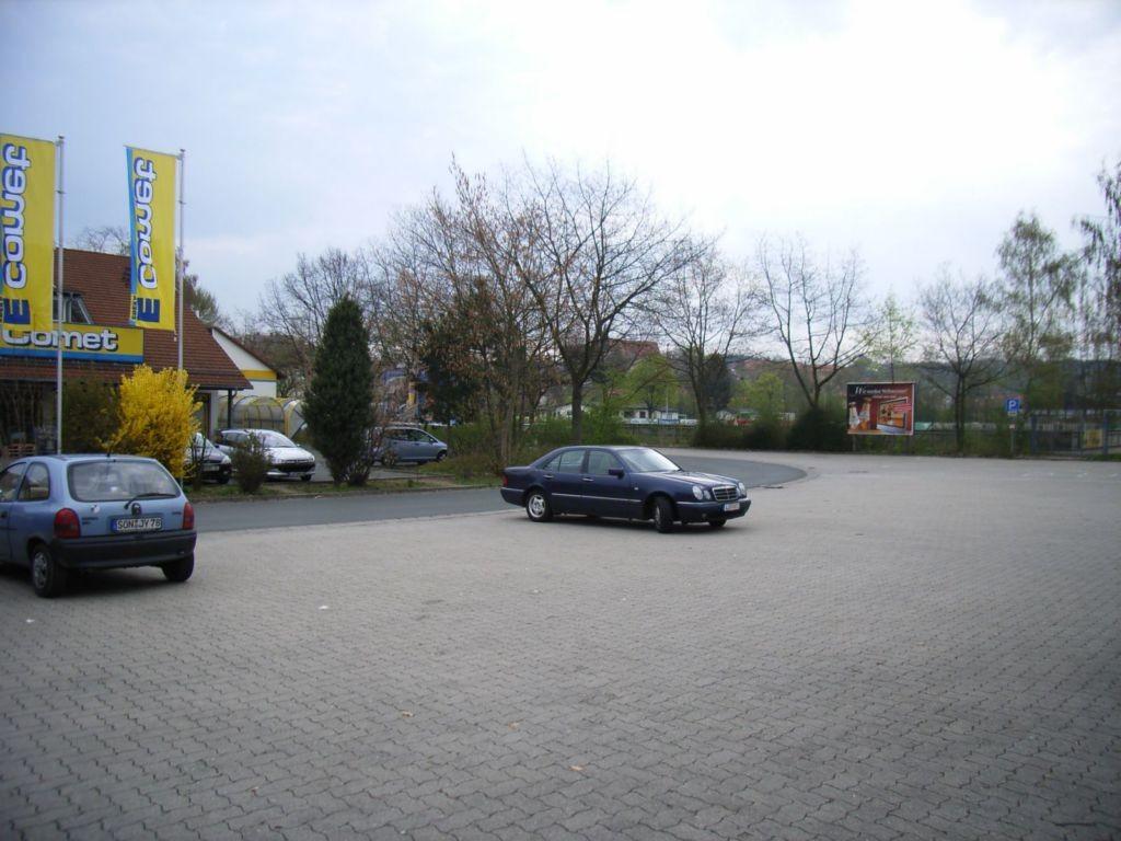 Alter Postweg nh. / Bahnhofstraße, Baumarkt (P)