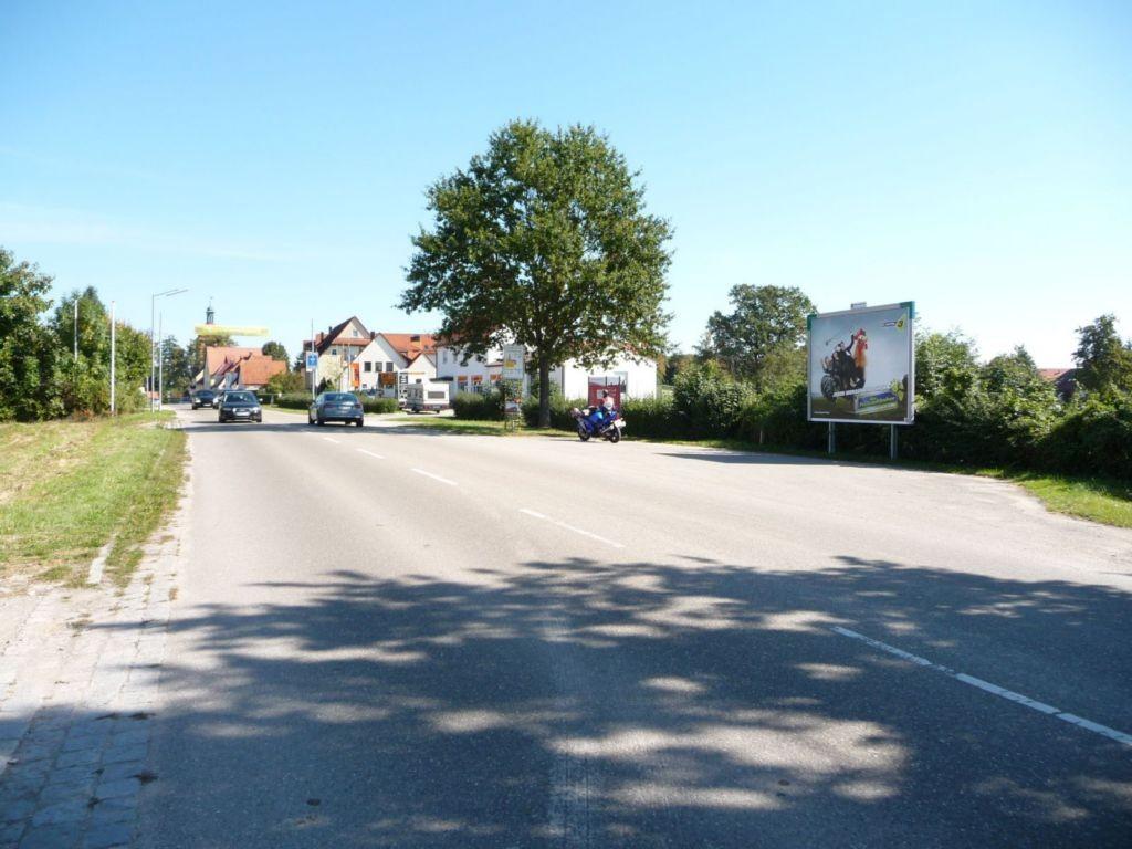 Ellwanger Straße nh. KDH-Motorradhaus