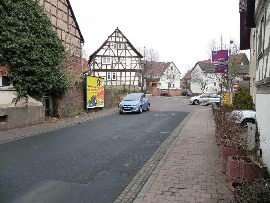 Frankfurter Straße gg. / Brunnenstraße gg. Metzgerei