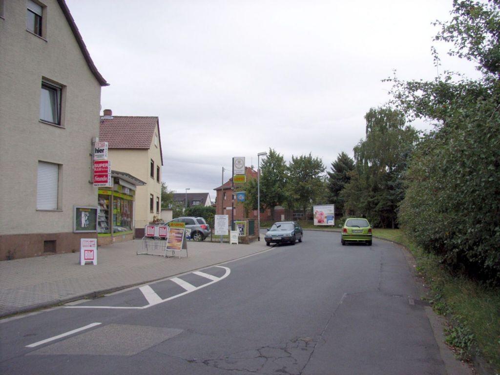 Eisenbahnstraße gg. 36 nh. / Wendelinusstraße