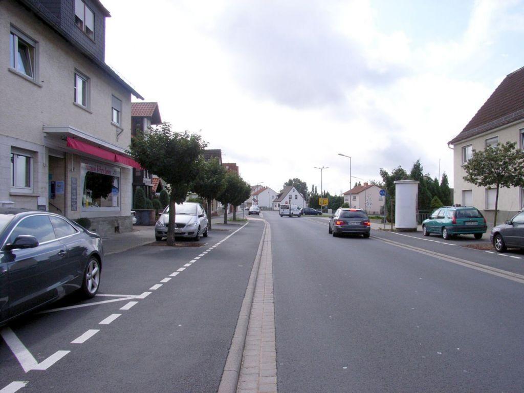 Hanauer Landstraße 41 gg. / Sandweg gg. Metzgerei