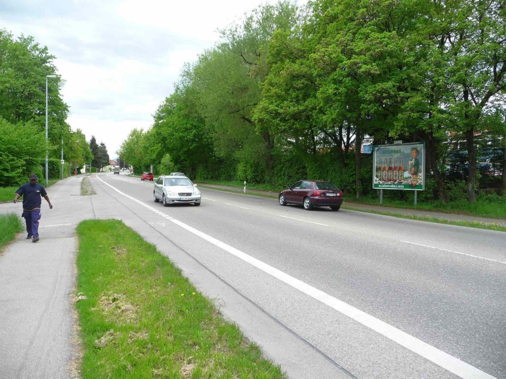 Memminger Straße nh. 8 gg. THW gg. Zufahrt Haus-Nr. 130