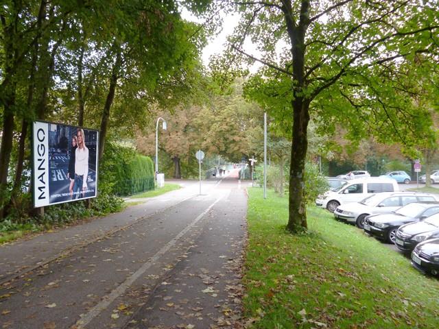Jahnweg / Illerdamm, Stadion, Parkplatz