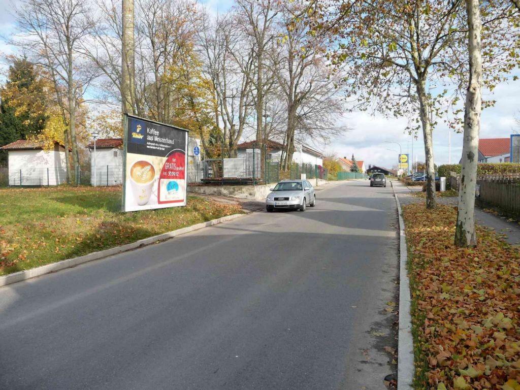 Hochstraße gg. 44, Lidl, Ausfahrt Eggenfelden