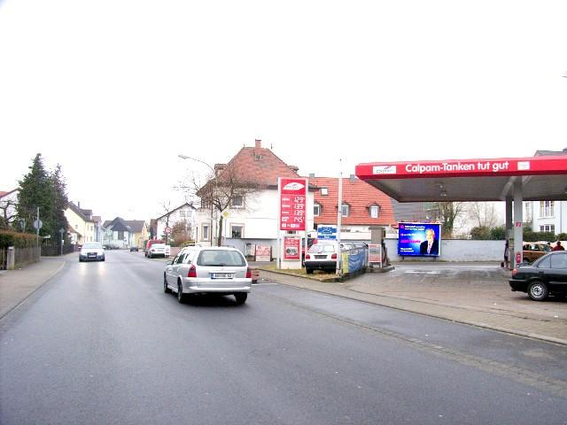 Schubertstraße / Hauptstraße, calpam Tankstelle