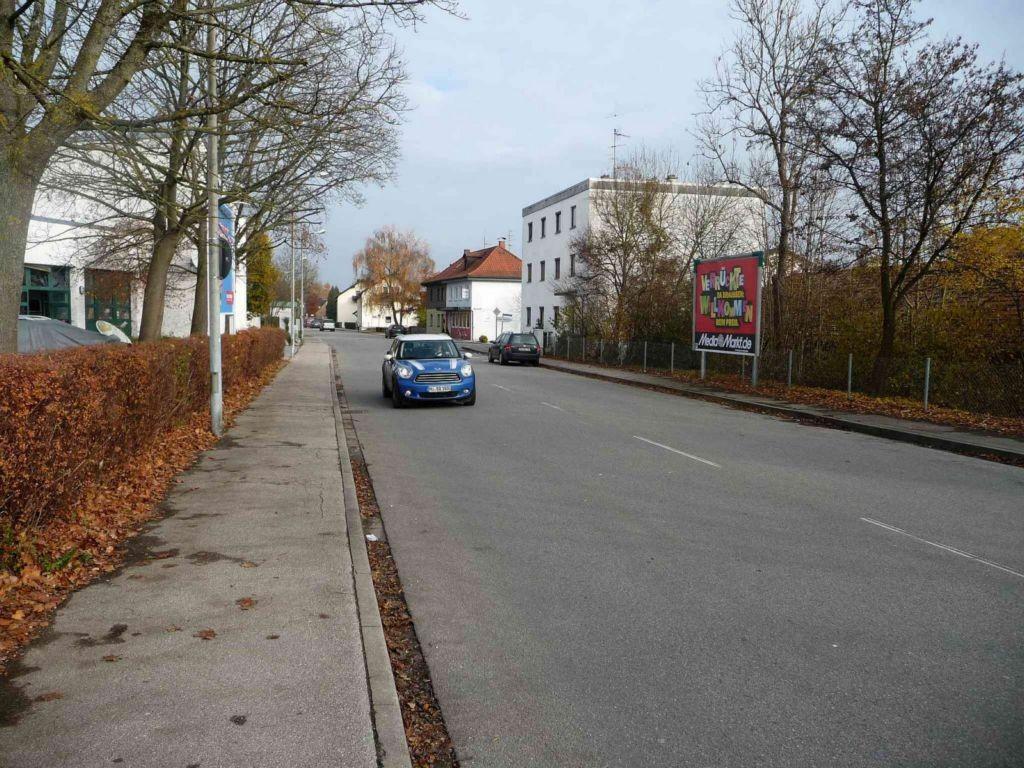 Töginger Straße 50, Bauhof nh. / Zeppelinstraße