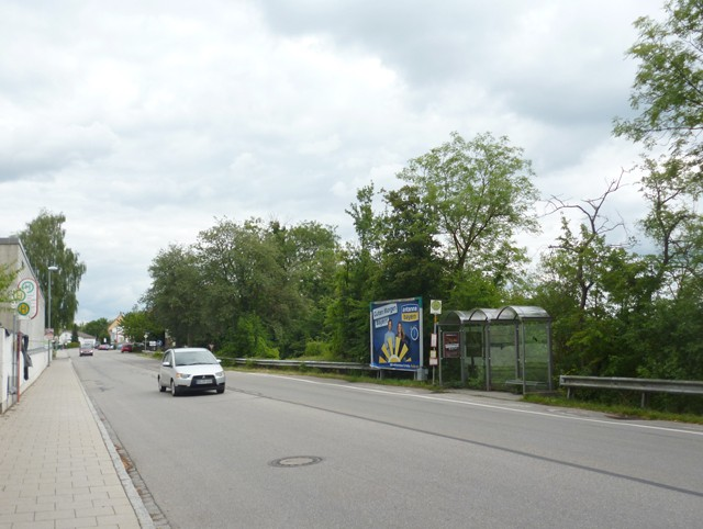Münchener Straße, Bush. nh. / Kapellenstraße