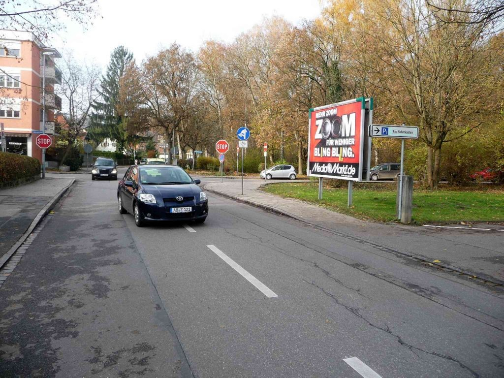 Am Stadtwall / Krankenhausberg, Einf.Parkplatz VS
