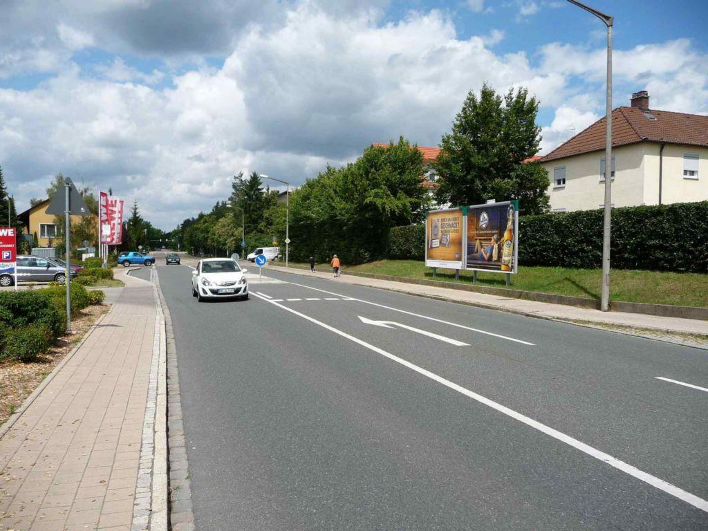 Nürnberger Straße, Bush. gg. Ausf.EKZ-REWE