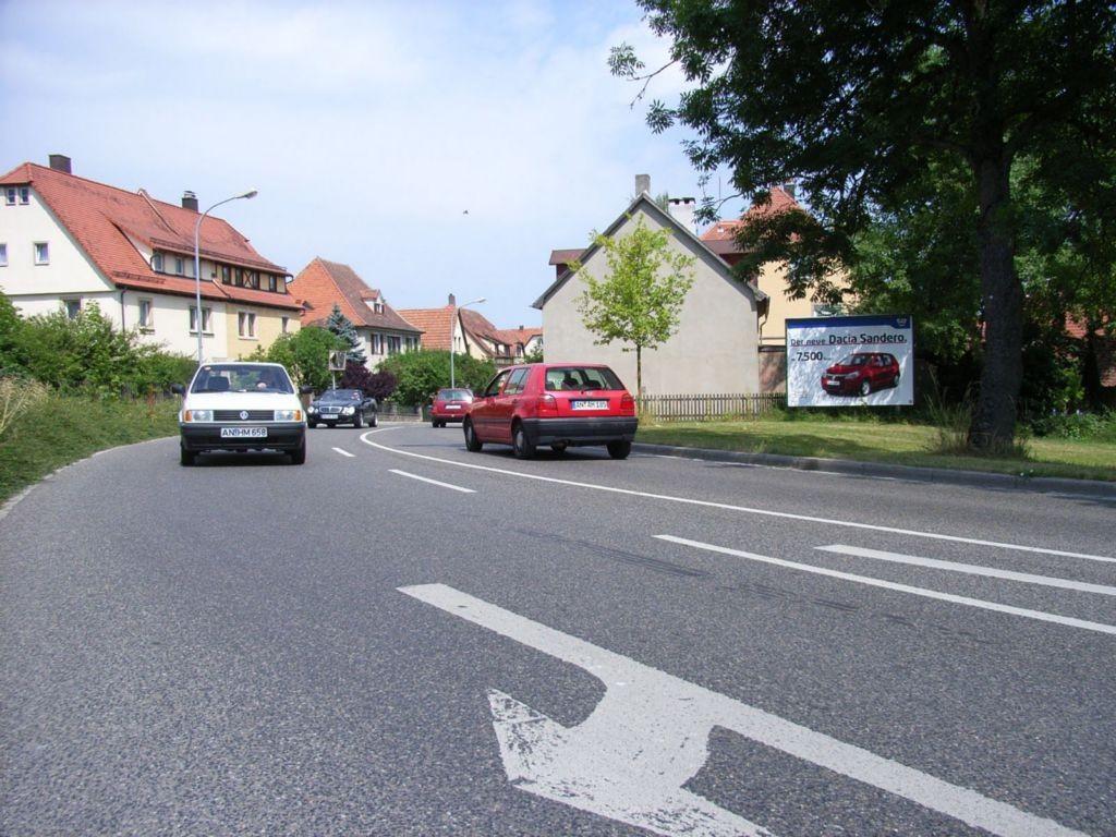 Würzburger Straße, B 25 nh. / Vorm Würzburger Tor