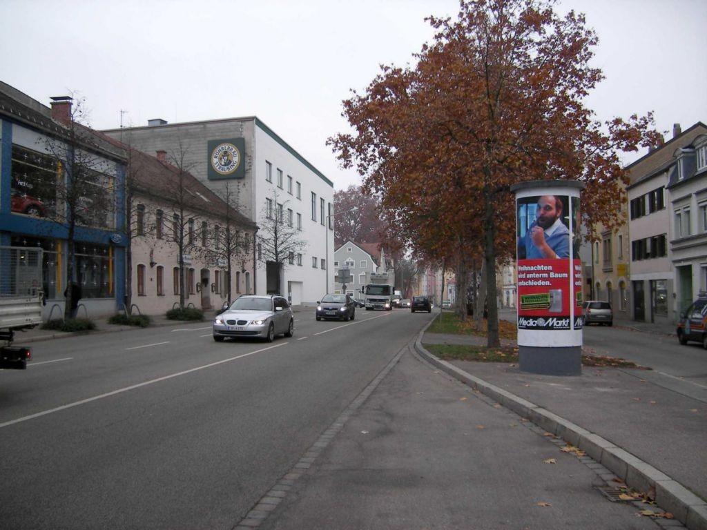 Heerstraße nh. 4, gg. Ford Griesbeck, Bush.  3,00 x 3,80