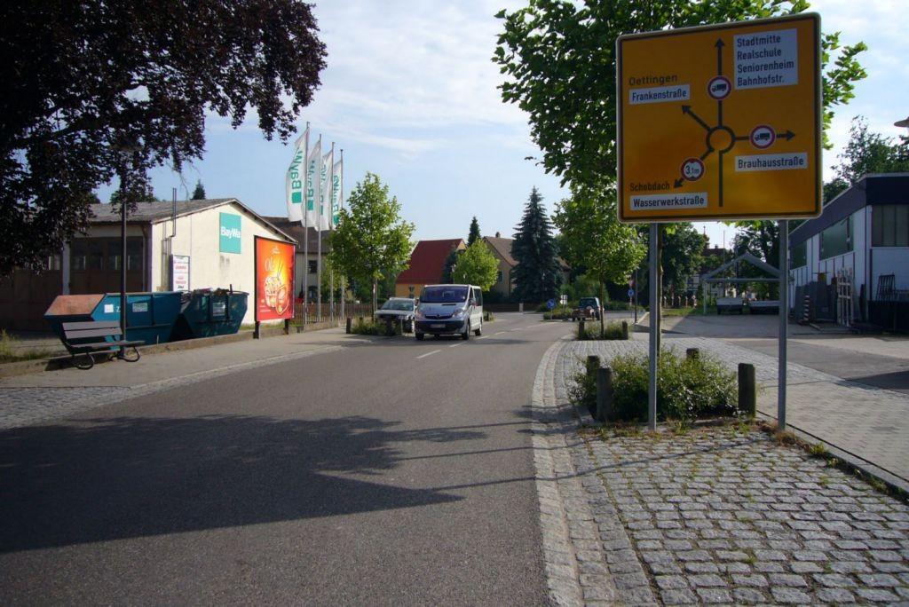 Bahnhofstr., BayWa nh. / Frankenstr.