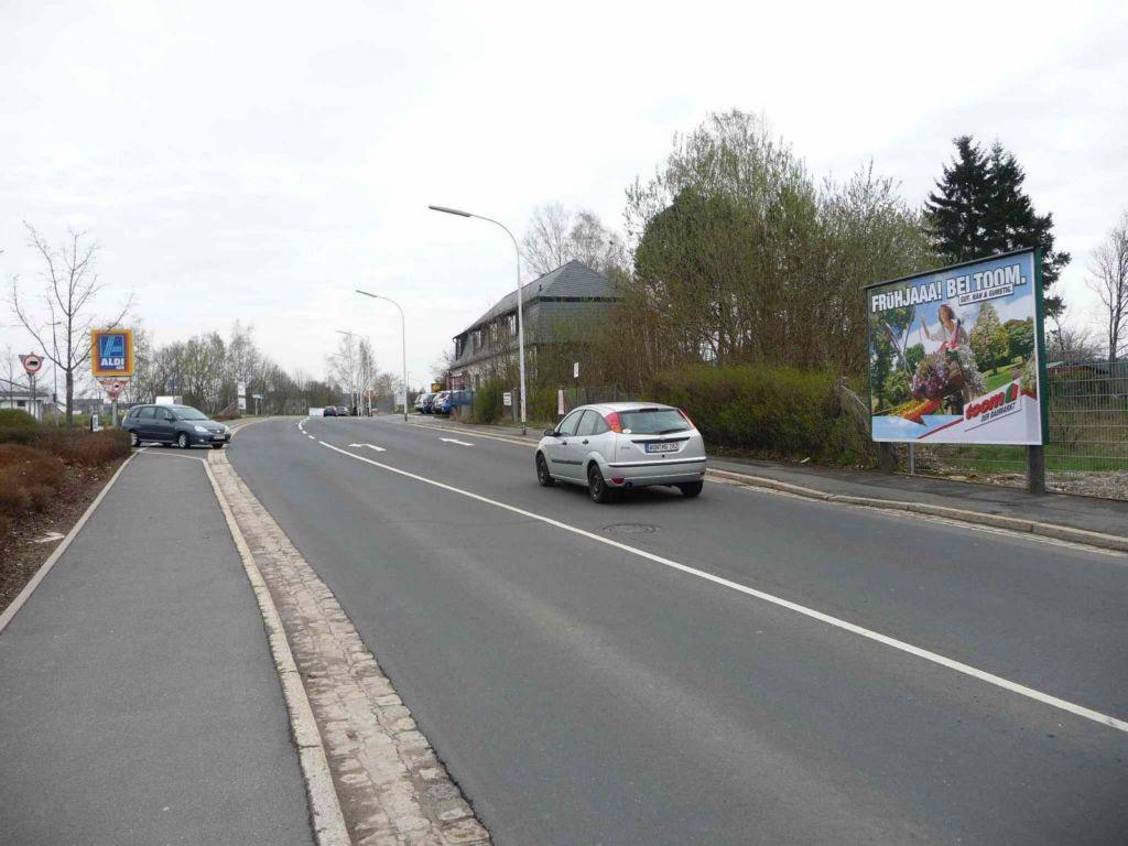 Egerstraße nh. / Am Steinacker gg. Aldi