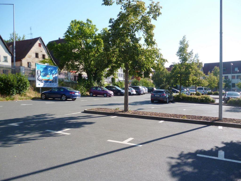 Nürnberger Straße / Turnstraße, Parkplatz