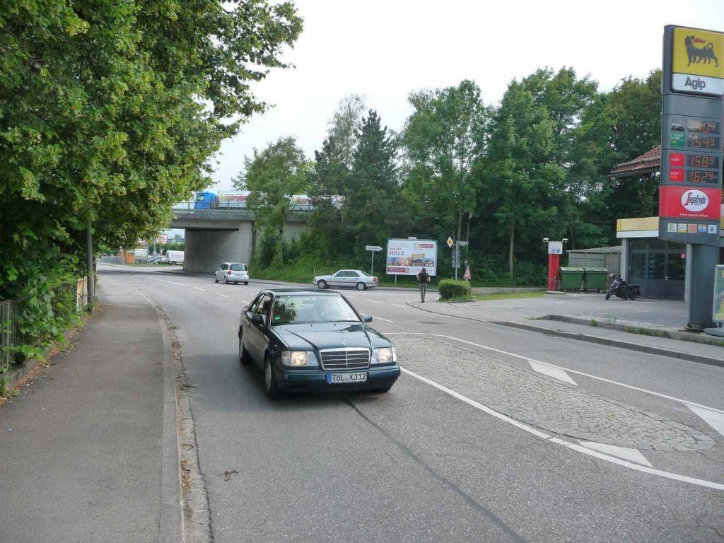 Kohlstattstr. / Lenggrieser Str., AGIP Tankstelle