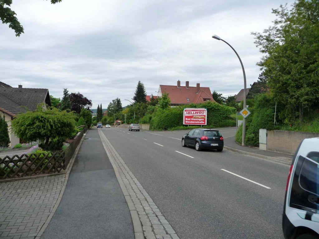 Münnerstädter Straße, B 287 / Händelstraße
