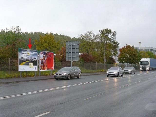 Schönbornstraße, B 26 gg. Tankstelle